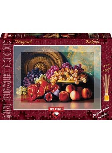 Educa Art Puzzle Kokulu 1000 Parça Meyve Şöleni Renkli